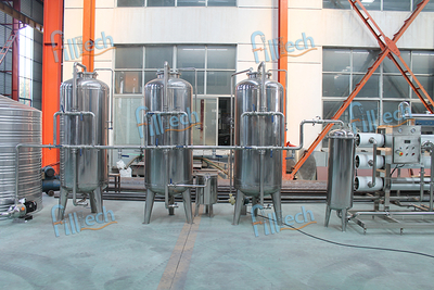 6T Reverse Osmosis Water Treatment System for Pure Water
