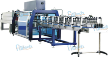 Linear type PE film wrapping machine